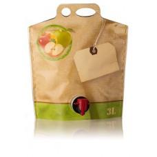 BAG IN BOX - DOJPAK 3L za sok - zeleno jabolko 10 kos