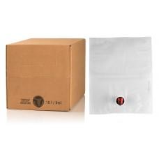 BAG IN BOX 10L za sok 5 kos (vrečka v. sr.+ karton) - dno za lepljenje