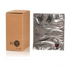 BAG IN BOX 3L za vino 5 kos (vrečka v. vog.+ karton)