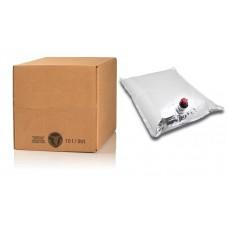 BAG IN BOX 10L za vino 5 kos (vrečka v. sr.+ karton) -  dno za lepljenje