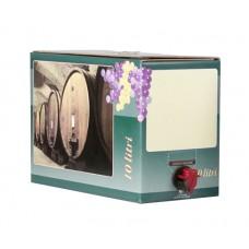 BAG IN BOX - KARTON 10L za belo vino 10 kos