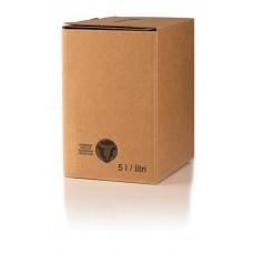 BAG IN BOX - KARTON 5L anonimni - stoječi 10 kos