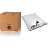 BAG IN BOX 5L za vino 5 kos (vrečka v. sr. + karton ležeči)
