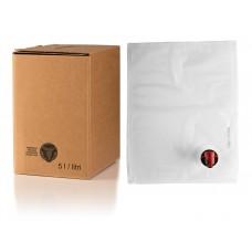 BAG IN BOX 5L za sok 5 kos (vrečka v. vog. + karton stoječi)