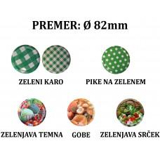 POKROVI ZA KOZARCE FI 82 (30 kos) - zelenjavni motivi